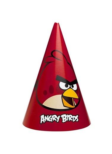 Angry Birds Külah Şapka 6 Adet-Balon Evi